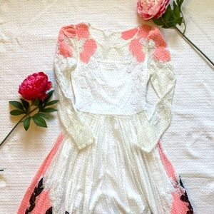 Stunning White Lace Dress
